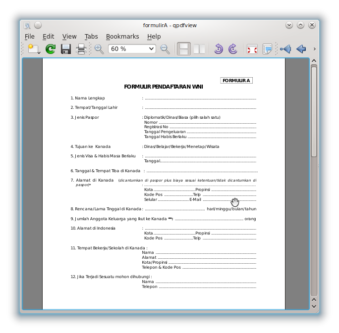 Membuat Formulir GUI dengan Qt Creator | RESTAVA