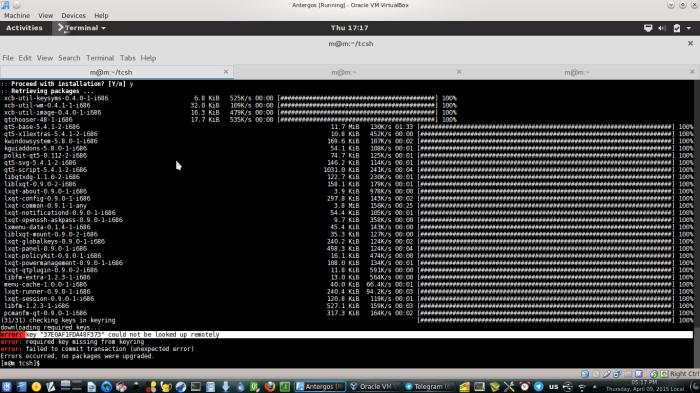 Mencoba Antergos Linux di Virtualbox | RESTAVA